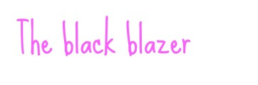 blackblazer