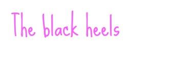 blackheels