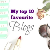 My top 10 favourite blogs